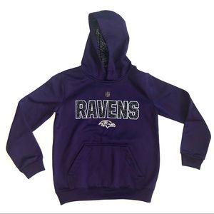 NFL Purple Ravens Hoodie (Youth)